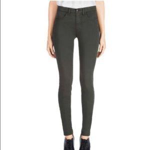 J Brand Presidio Luxe Sateen Super Skinny Jeans